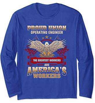 Union Operating Engineer Long Sleeve Tshirt