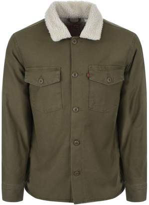 Levi's Levis Military Sherpa Jacket Green