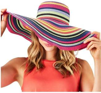 Twos Company Two's Company Multicolor Floppy Hat