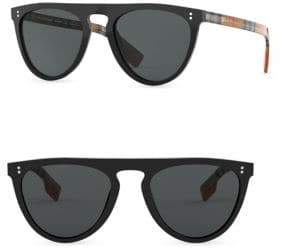 Burberry 54MM Keyhole D-Shape Sunglasses