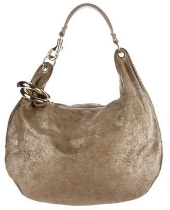 Jimmy Choo Jimmy Choo Metallic Solar Hobo