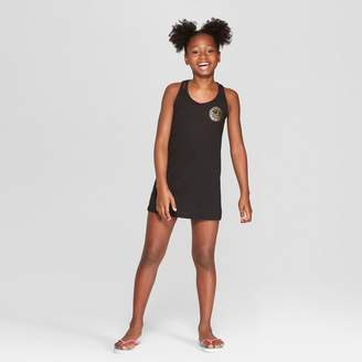 Art Class Girls' Let the Good Vibes Roll Cover Up Dresses - art class Black