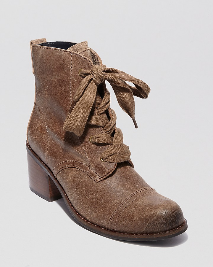 Dolce Vita Lace Up Booties - Elea