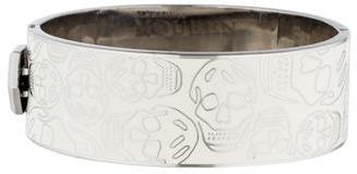 Alexander McQueenAlexander McQueen Enamel Skull Bracelet