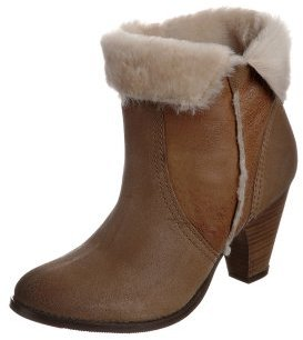 Dune BOSSY Boots brown