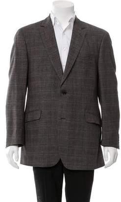 Etro Wool Plaid Blazer