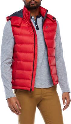 Nautica Hooded Ultra Light Down Vest