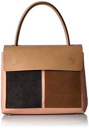 Orla Kiely Punched Pocket Leather Rowan