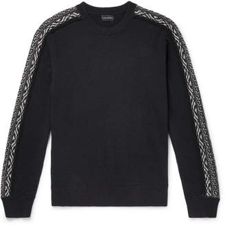 Club Monaco Slim-Fit Fair Isle Wool Sweater