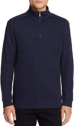 BOSS Green Piceno Half-Zip Sweater $165 thestylecure.com