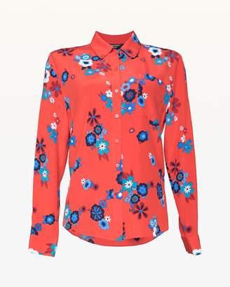 Juicy Couture Hayworth Floral Silk Top