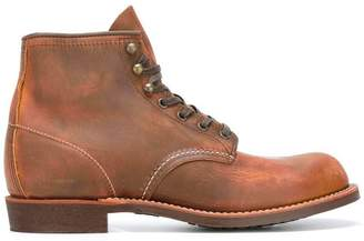 Red Wing Shoes lace-up boots