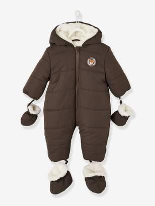 Vertbaudet Lined & Padded Pramsuit, for Baby Boys