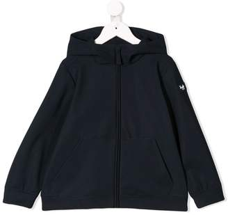 Il Gufo full-zipped hooded jacket