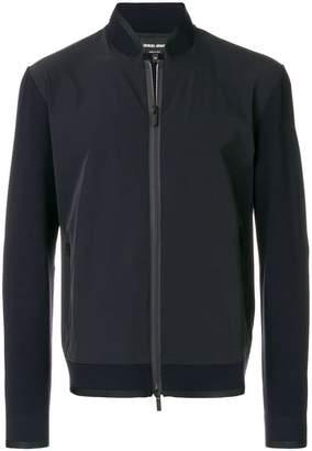 Giorgio Armani tonal panelled jacket