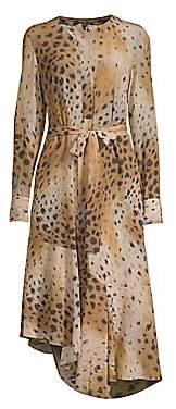 Lafayette 148 New York Women's Delancey Leopard Print Dress