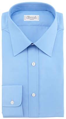 Charvet Barrel-Cuff Poplin Shirt