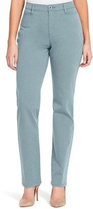 Gloria Vanderbilt Petite Amanda Modern Tapered Twill Pants