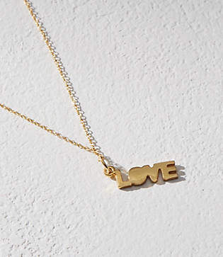 Lou & Grey MIE by Honey & Bloom Love Charm Necklace