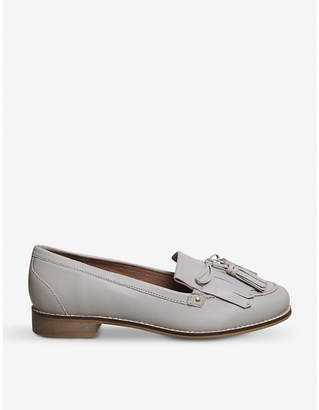 Office Penny tassel leather loafers