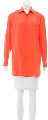 Ralph Lauren Silk Oversize Top