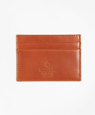 Brooks Brothers Vegetable Tanned Leather Card Case