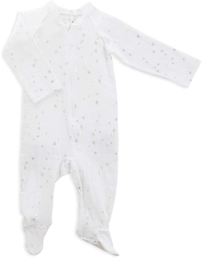 Aden And Anais Infant Unisex Star Print Footie - Baby