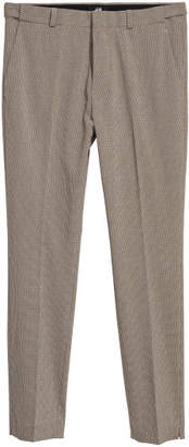 H&M Suit Pants Skinny fit - Brown