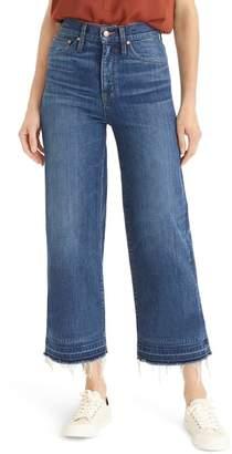 J.Crew Point Sur Released Hem Crop Wide Leg Jeans