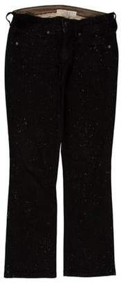 Stella McCartney Low-Rise Straight-Leg Jeans