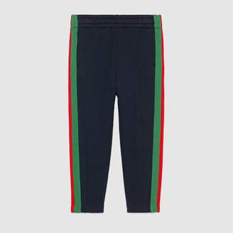 Gucci Children's jogging pant with Web