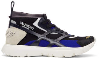 Valentino Multicolor Garavani Sound High-Top Sneakers