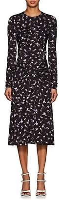 Altuzarra Women's Maria Teresa Floral Jersey Dress - Black