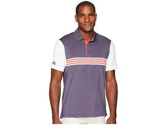 adidas Ultimate Engineered 3-Stripe Polo Men's Short Sleeve Pullover