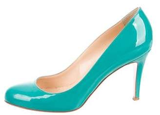 Christian Louboutin Patent Leather Simple Pumps