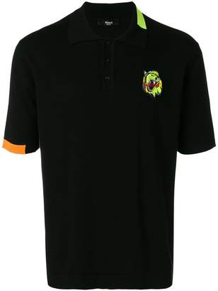 Versus embroidered logo polo shirt