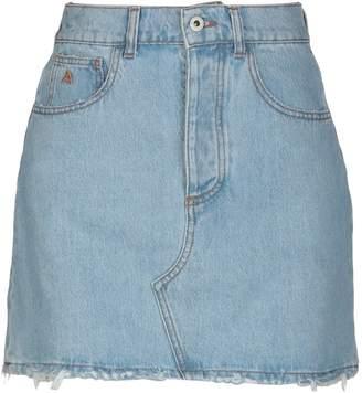 ATTICO Denim skirts - Item 35399312BI