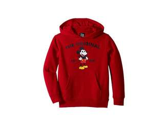 Vans Kids Mickey's 90th Classic Pullover Fleece (Toddler)