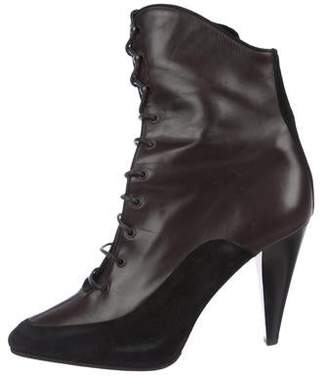 Proenza Schouler Leather Ankle Booties