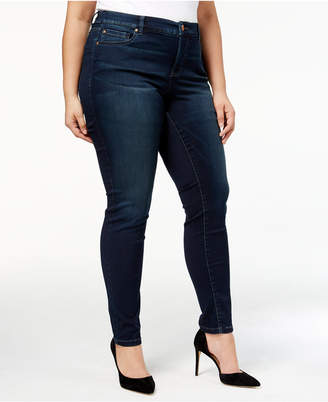 INC International Concepts I.n.c. Plus Size Tummy Control Beyond Stretch Skinny Jeans