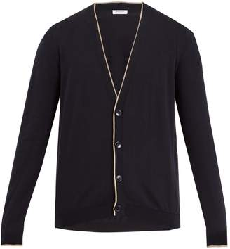Boglioli V-neck cotton cardigan