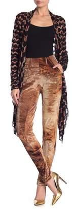 Petit Pois Corduroy Patterned Skinny Pants