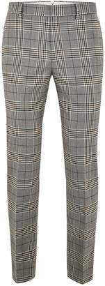 Topman Dapple Check Skinny Trousers