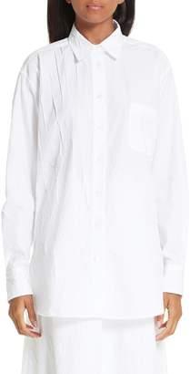Sies Marjan Sander Crinkled Poplin Shirt