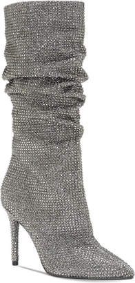 Jessica Simpson Layzer Slouchy Rhinestone Boots Women's Shoes