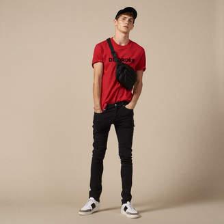 Sandro Black destroy jeans - Skinny cut