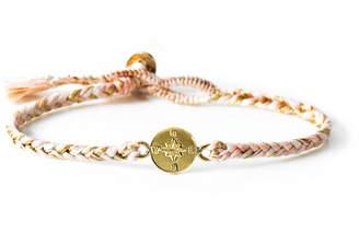 The Brave Collection Women's Woven Compass Bracelet