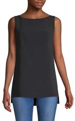 ADAM by Adam Lippes Sleeveless High-Low Top