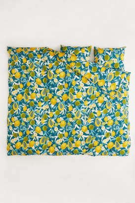 H&M Patterned Duvet Cover Set - Turquoise