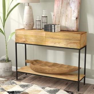 Union Rustic Sterner Rectangle Console Table